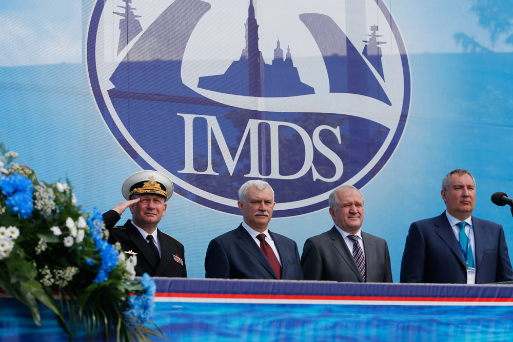 8th International Maritime Defence Show IMDS-2017