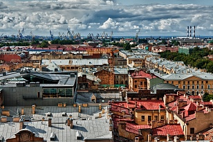 The Rooftop tour of St.Petersburg